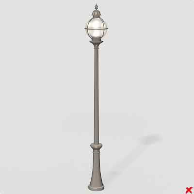 3d street lamps - Lamp street014-17.zip... by Fworx