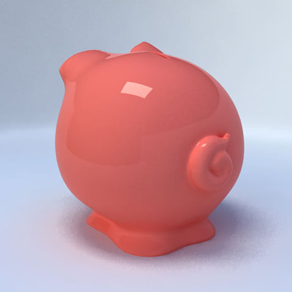 3d piggy bank model - Piggy Bank... by Mansurov Renat