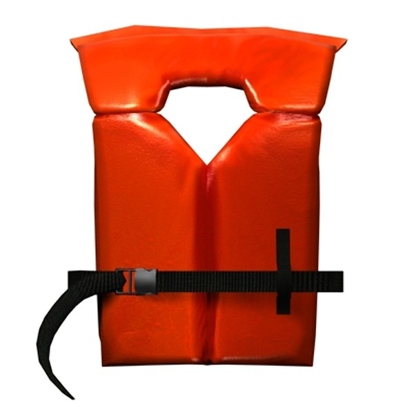 life jackets 3d model - Life Jackets... by Mickey Models