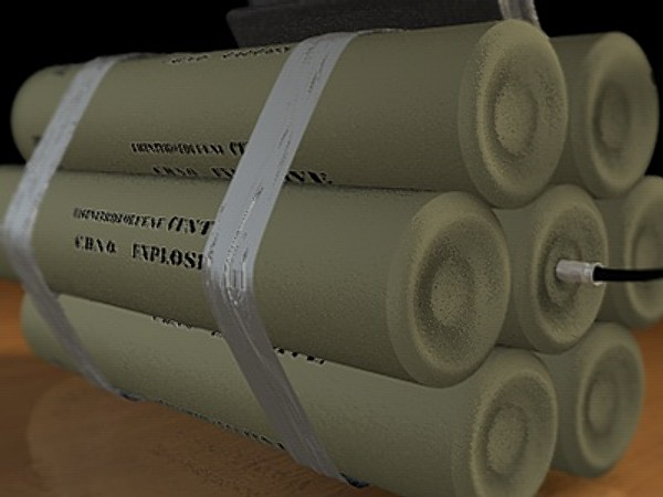 3ds max tnt explosive device - TimeBomb Explosive Device... by Whong