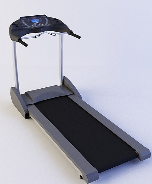 3d model treadmill gym fits - Treadmill... by logesh_v