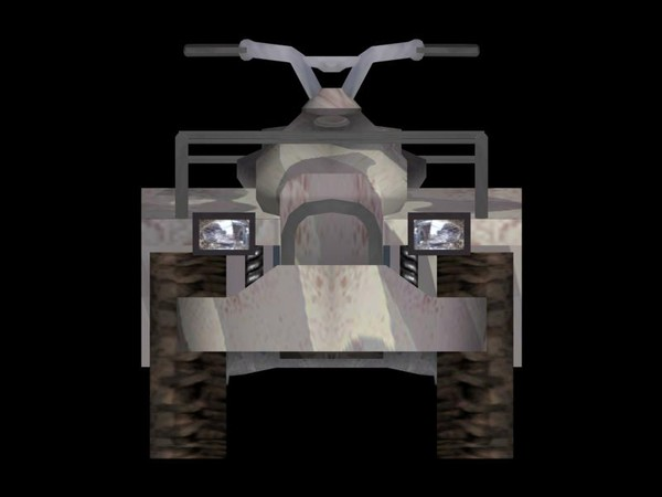 quad atv 3d model - ATV Quad... by FangioDesign
