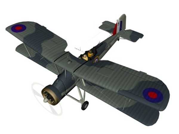 3d model fairey torpedo - Fairey Swprdfish... by pbratt