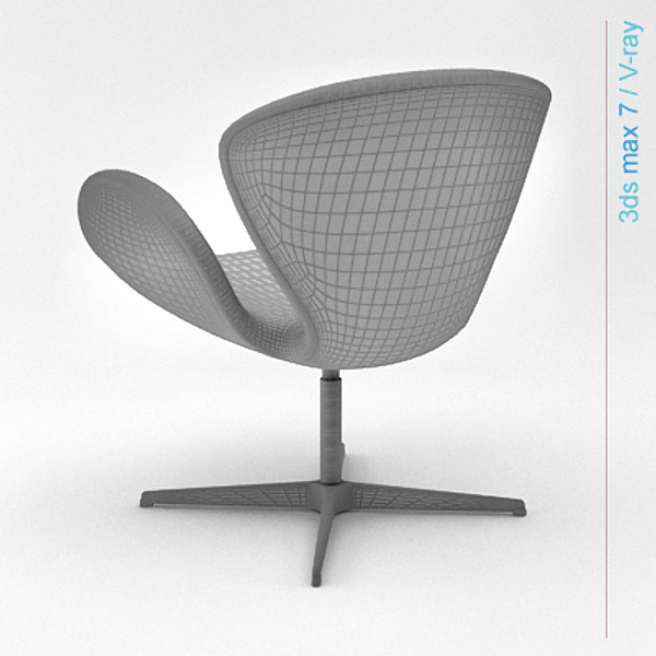 lightwave design swan chair - swan... by Lajhar