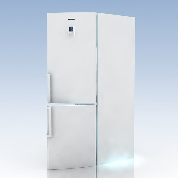 3d model fridge samsung rl 40 - Fridge.SAMSUNG.RL 40 ECSW1BWT.MF... by 3DLocker