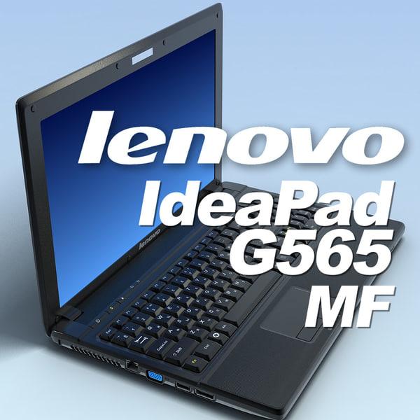 lenovo ideapad G565 MF 3D models