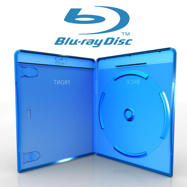 Blu-Ray case 3D Models