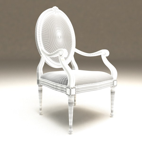 angelo cappellini peltrona max - Angelo cappellini _ Peltrona chair... by 3D.Art