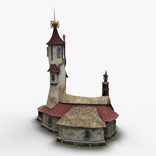 3d wizard shop model - Wizard Shop... by bemola