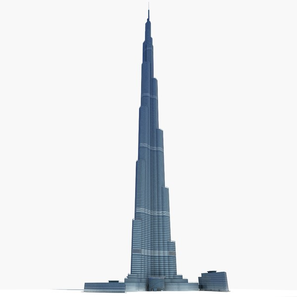 3d dubai tower skyscraper model - Burj Khalifa Dubai Tower... by Gandoza