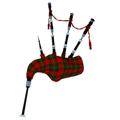 3d scottish bagpipes model - Scottish (Highland) Bagpipe... by PROTOCG