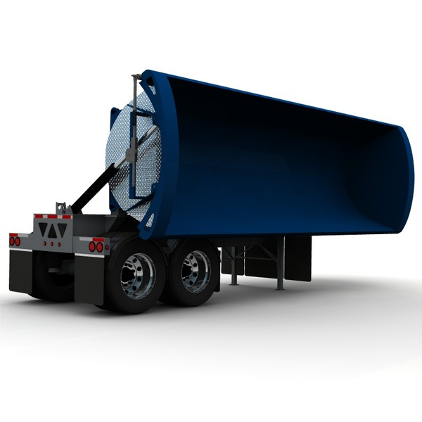 lwo dump trailer tw2000 midland - Midland TW2000 side dump trailer B-UNIT... by bansheewoj