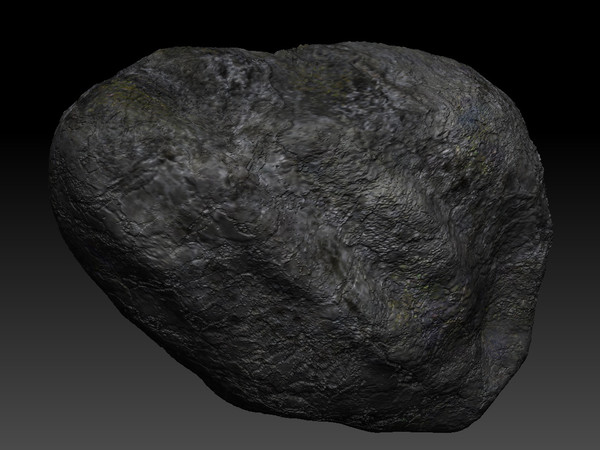 stone rock 3d 3ds - High Poly Rock... by KeremGogus