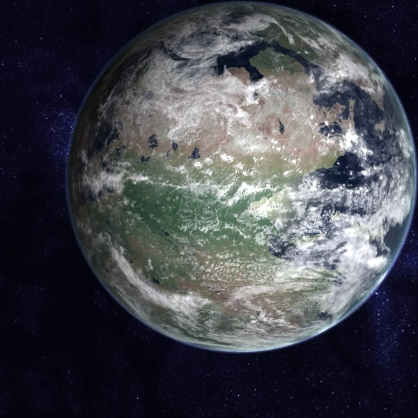 permian earth late 3d model - Late Permian Earth... by MichaelTaylor3D