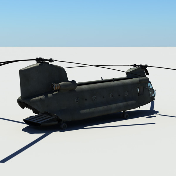 3d ch-47 chinook - Chinook... by studio Lab