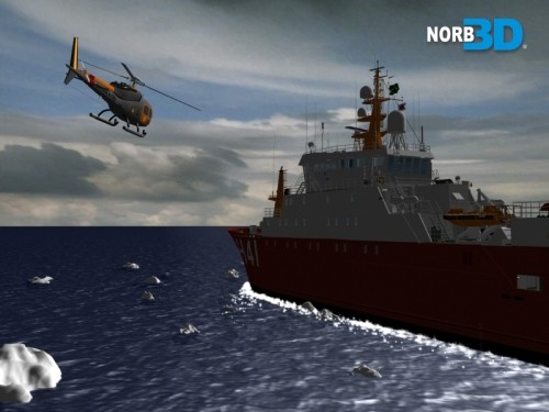 polar ship maximiano 3d model - NPo Alte.Maximiano... by NORB3D