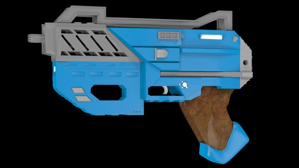 xte weapon 3d model - Weapon Special XTE... by Insect.Digital.Alchemy