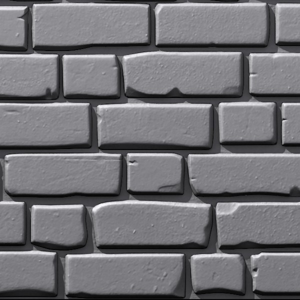 3d model brick wall 02 - Bricks wall #02... by Sunnncho