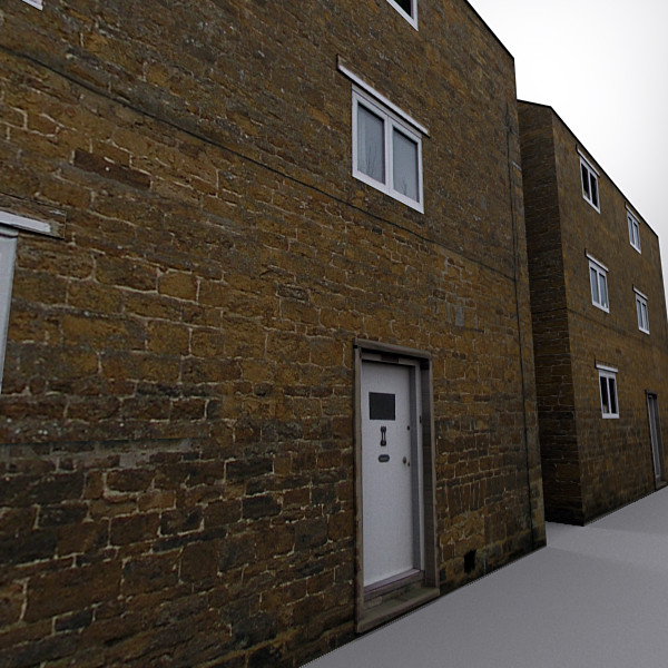 english village house 005 3d model - English Village House 005... by Clicheeee
