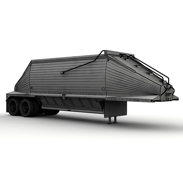 trailer beall 2 axle lwo - Beall 2 axle belly dump... by bansheewoj