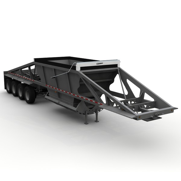 lwo trailer trail king - Trail King TKBD22-484... by bansheewoj