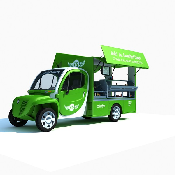 3d model fly food truck - Food Truck On The Fly... by Gandoza