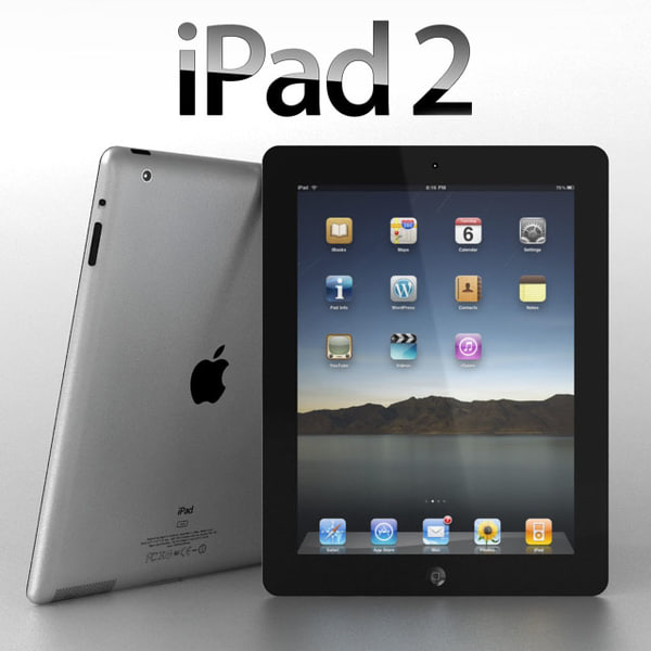 maya apple ipad 2 - iPad 2... by sweiry_tv