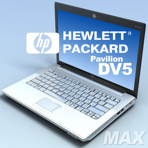 notebook hp pavilion dv5 max - Notebook.HP Pavilion DV5.MAX... by 3DLocker