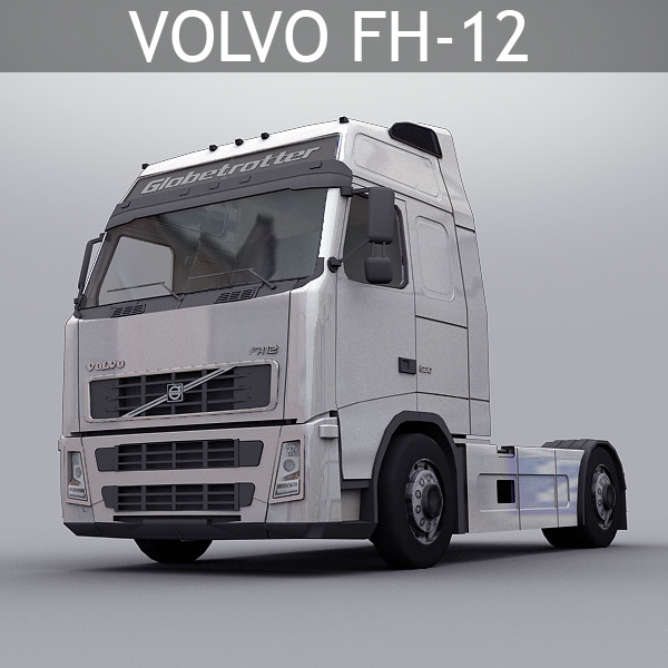 3d model of fh 12 truck - Volvo Truck FH 12... by Clicheeee