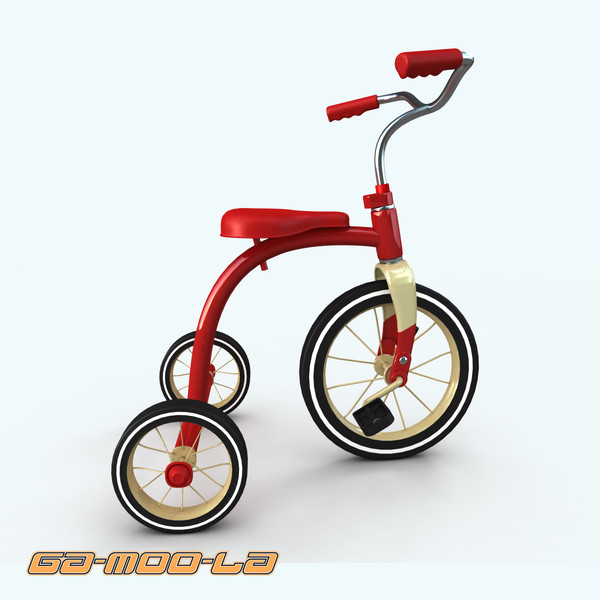 obj childrens tricycled - TOY_bike_tricycle.zip... by gamoola