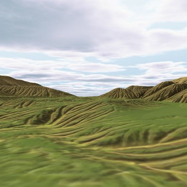 3d terrain model - Terrain_T6... by ERLHN