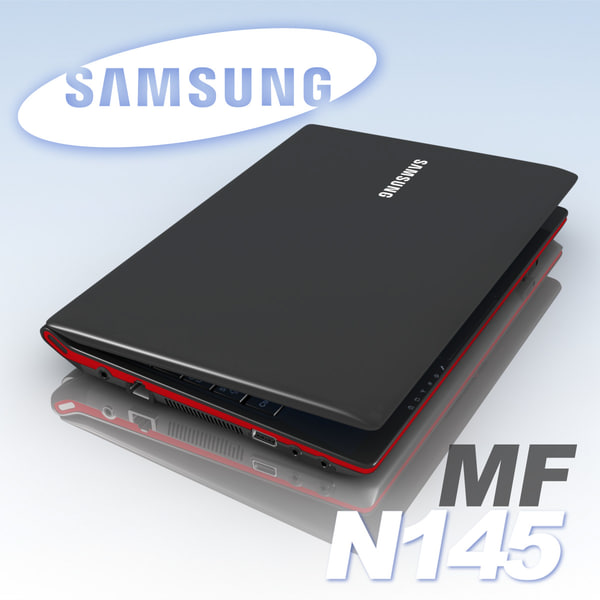 3ds max notebook samsung laptop - Notebook.SAMSUNG.N145.MF... by 3DLocker