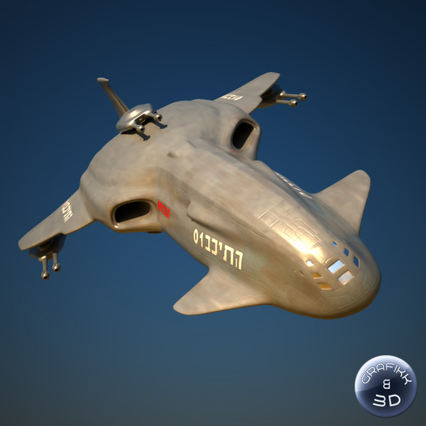 space craft 3d model - Space Craft (Warship)... by PolyTron