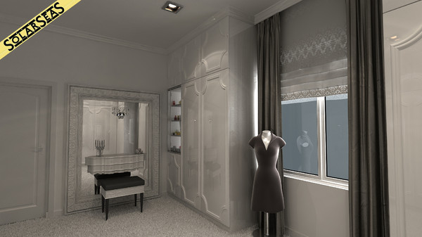 3ds max scene bedroom interior provence - Bedroom Provence... by solarseas