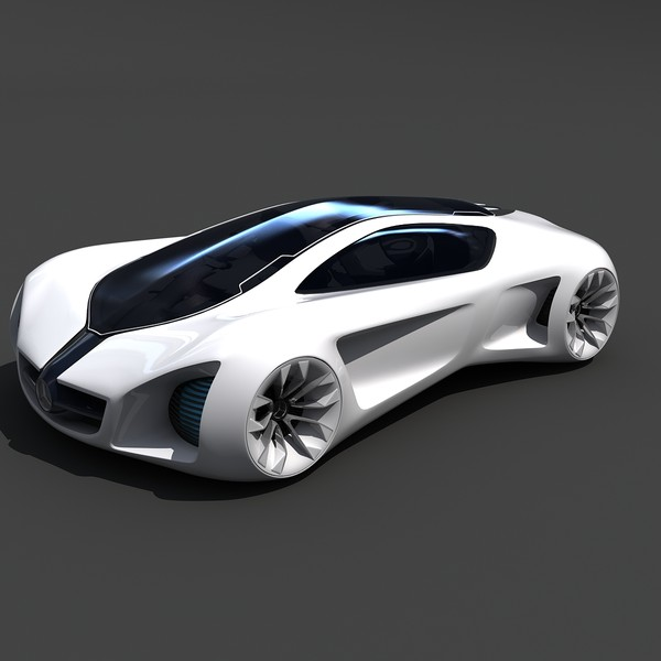 mercedes benz biome concept car 3d 3ds - Mercedes Benz Biome Concept Car... by Gandoza