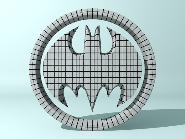 max batman logo - Batman Logo... by christiano247