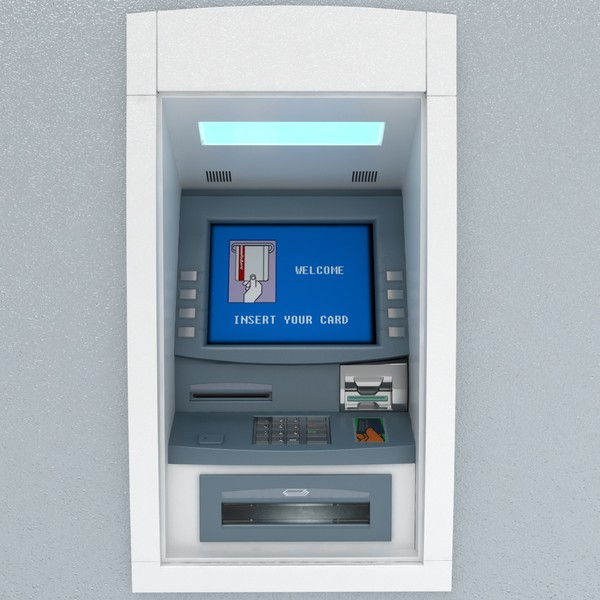 3d model cash machine - Cashmachine... by coboide