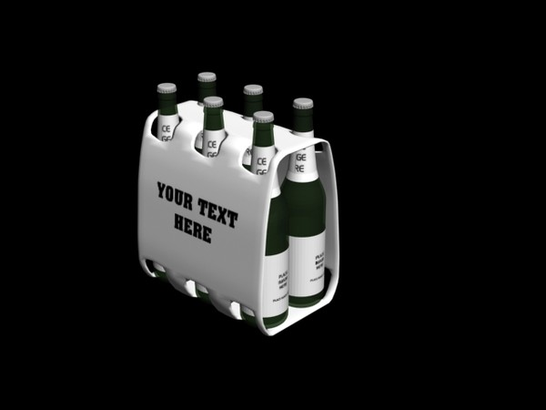 3d 6 pack model - 6 pack... by killeratb
