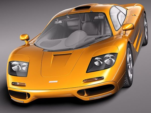 3d model mclaren f1 1994 1998 - McLaren F1 1994-1998... by squir
