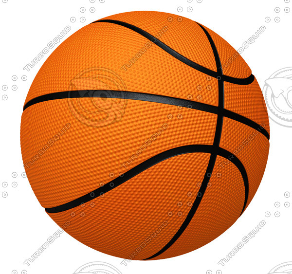 Basketball (clipping path)