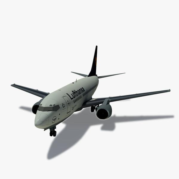 Boeing 737-500 3D models