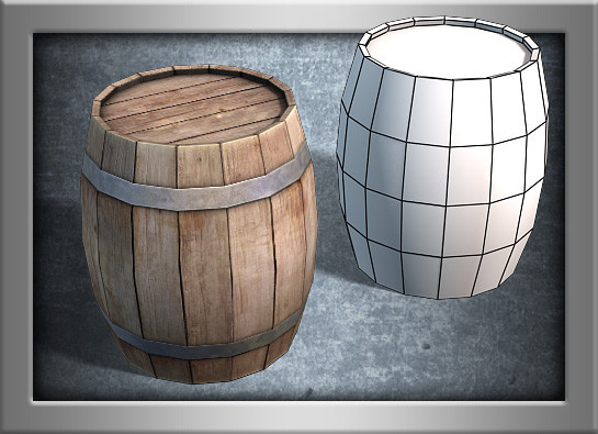wooden drum 3d model - Drum... by Braindrain85