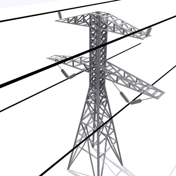3d model tower industrial - Electric Tower... by MotionMediaWorkshop