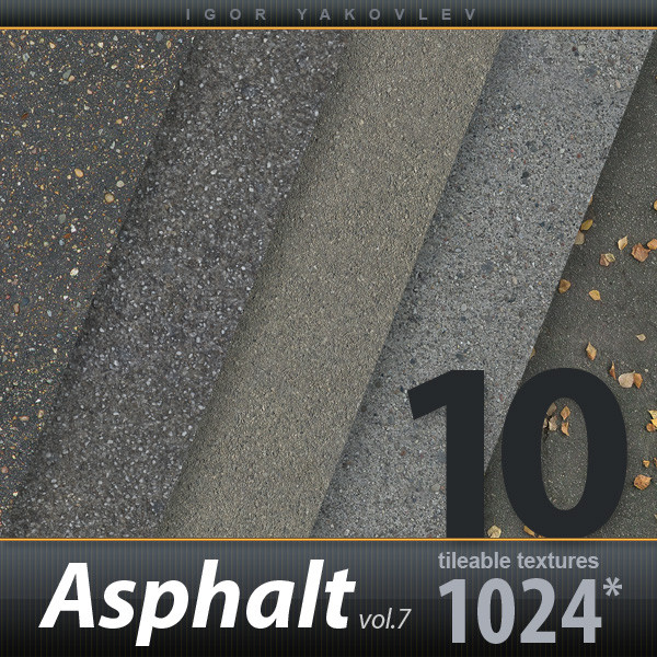 Asphalt Textures vol.7