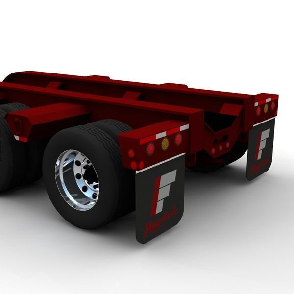 lightwave lowboy trailer - Fontaine Magnitude 50... by bansheewoj
