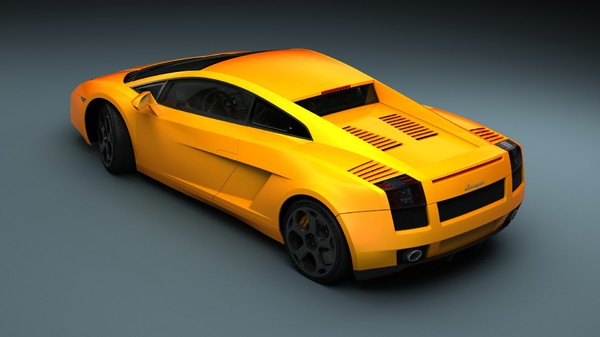 3d model 2003 gallardo - Lamboghini Gallardo 2003... by cg.laboratory