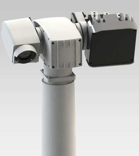 day night ir led 3d model - IR LED Day/Night Security Camera... by 3D MECHANICAL ENCYCLOPEDIA