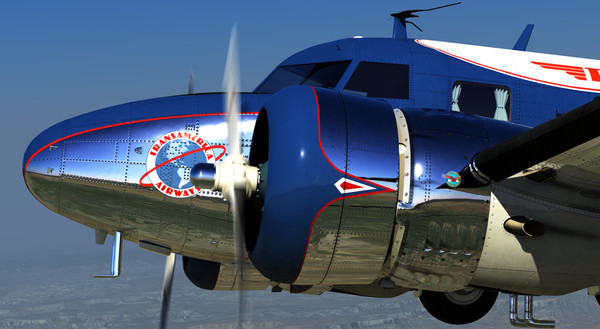 lockheed electra 12a 3d model - Lockheed Electra 12A... by damaggio