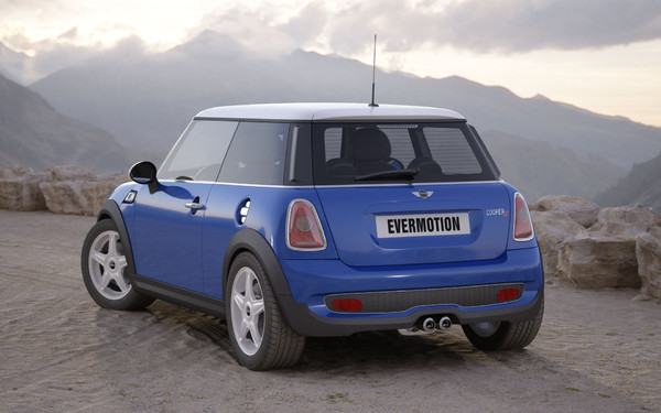 3d car mini cooper s - Mini Cooper S... by evermotion