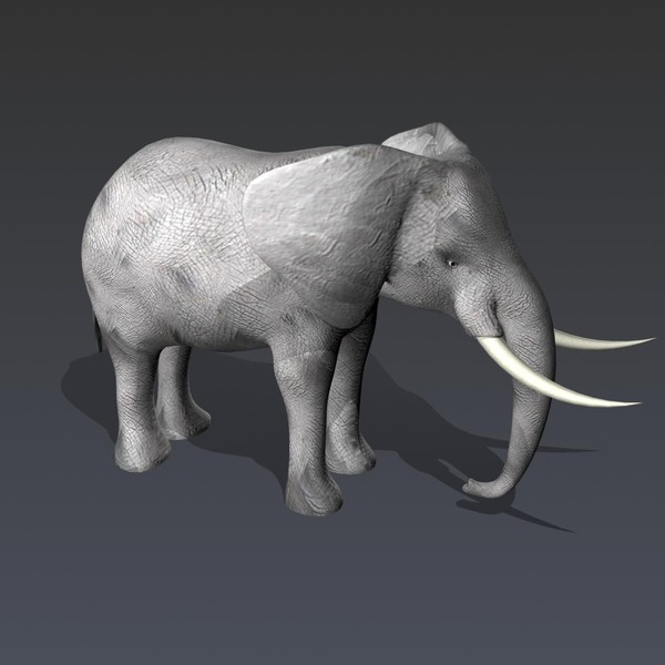 maya elephant animation - elephant... by Redfox1980